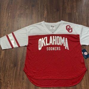 Oklahoma Sooners Mesh Logo Jersey